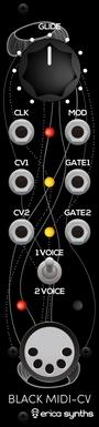 Black MIDI-CV V2