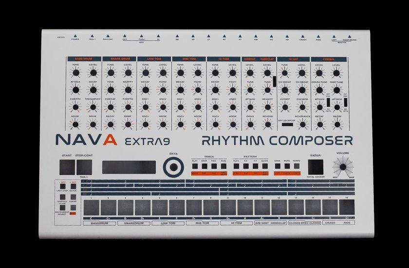 Nava TR 909 clone modded