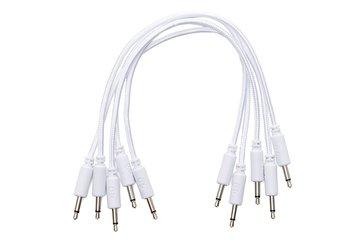 Braided Eurorack Patch Cables 30cm (5 pcs)