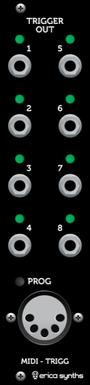 MIDI to Trigger module