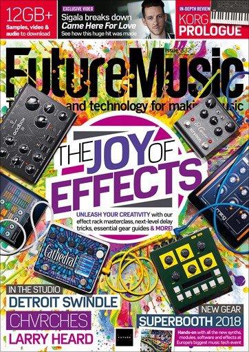 EricaSynths - Future Music Magazine July 2018