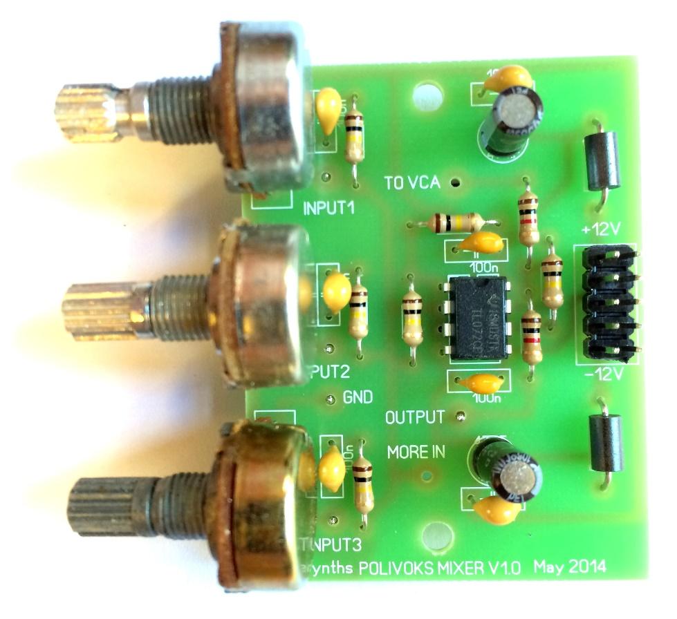 Ericasynths Diy Mixer Kit B Stock Wwwhomemadeelectronicscom